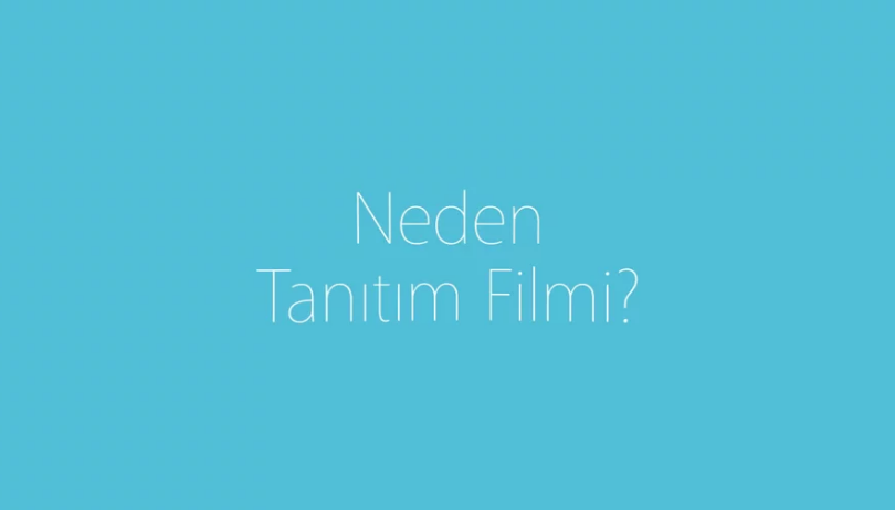 Tanıtım Filmi – İnfografik Tanıtım Videosu