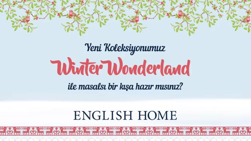 "English Home – ""Winter Wonderland"" Teması Tanıtım Videosu"